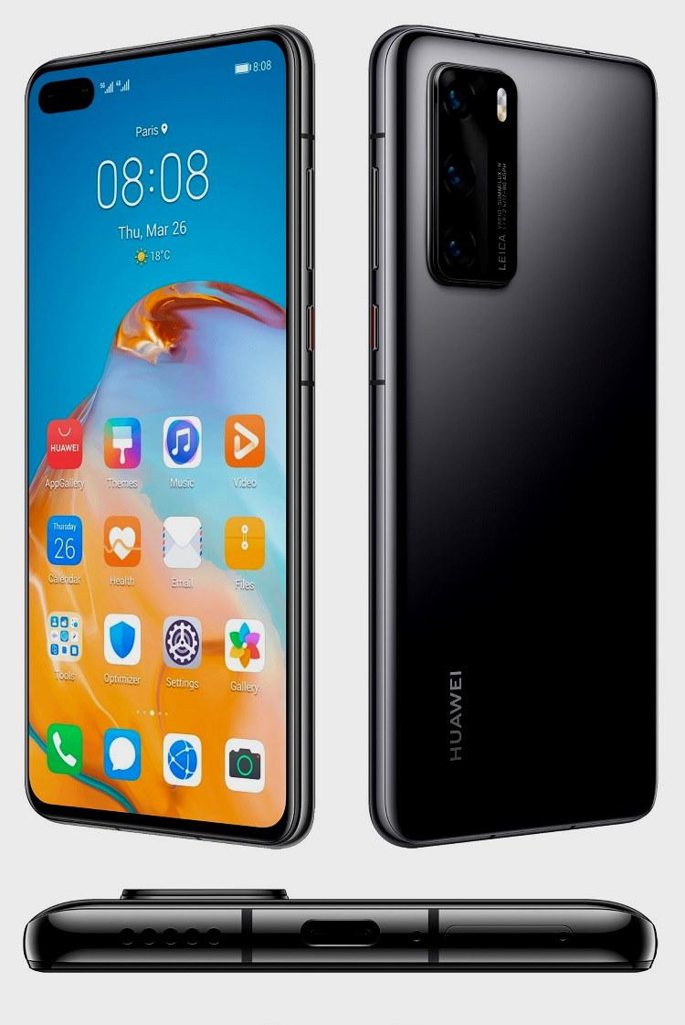 Imágenes definitivas de los Huawei P40 y Huawei P40 Pro 38