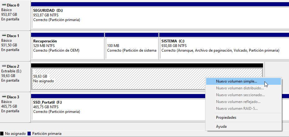 Cómo se manejan las particiones de disco en Windows y por qué son tan útiles 36