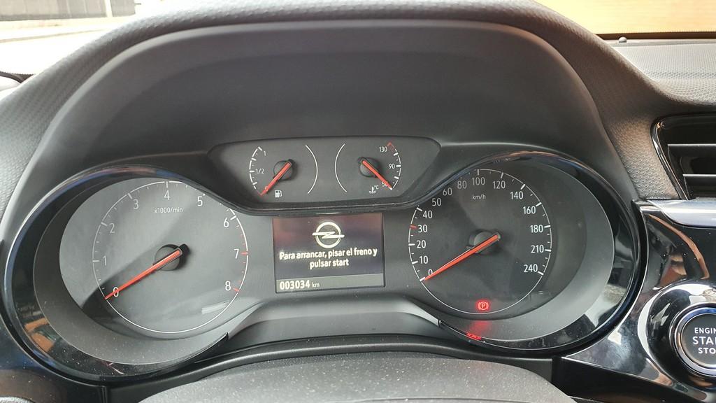 Opel Corsa 2020, cimientos 42