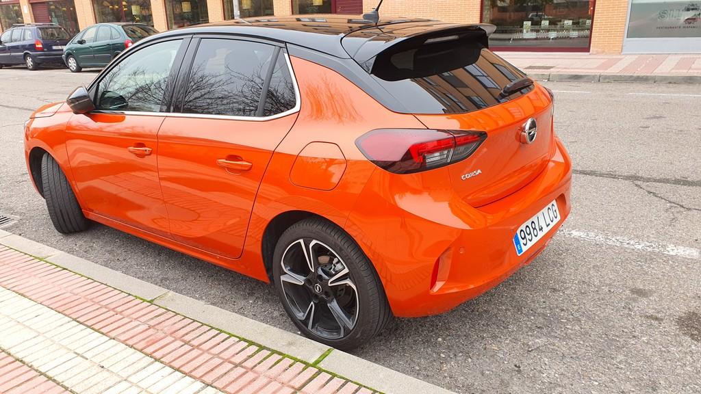 Opel Corsa 2020, cimientos 30