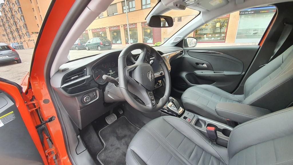 Opel Corsa 2020, cimientos 36