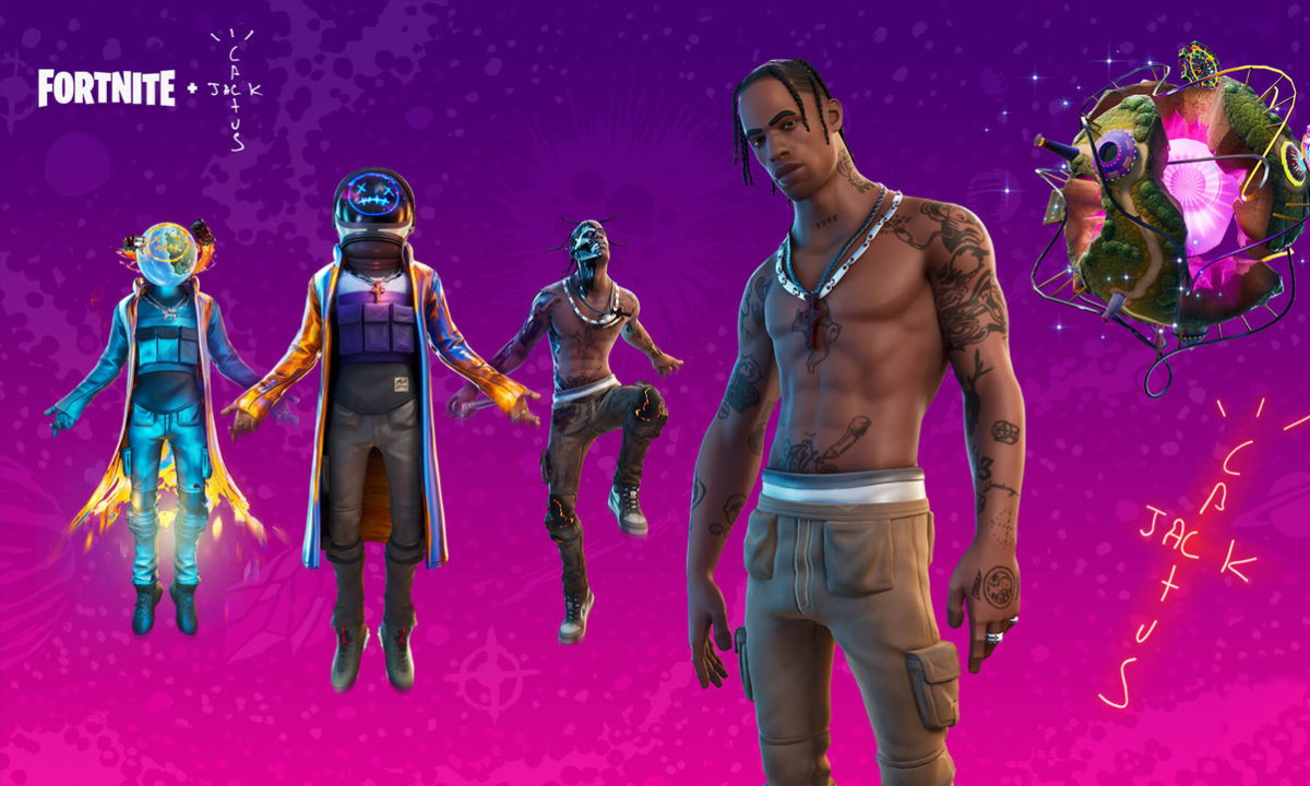 Fortnite Travis Scott Concierto