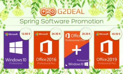 G2Deal Claves de Windows 10 barato