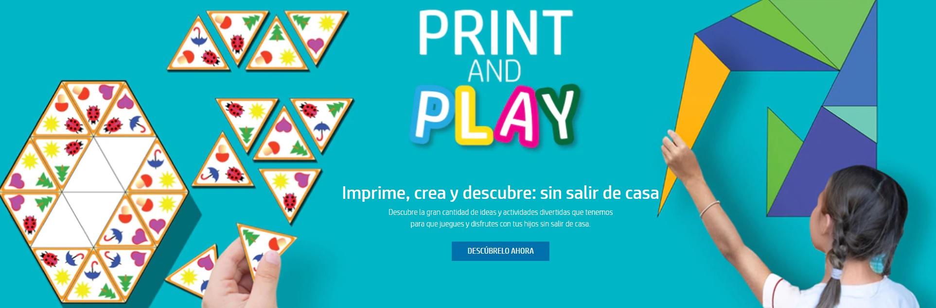 HP lanza la plataforma Print, Play & Learn: disfruta de contenidos gratuitos con los más pequeños 34