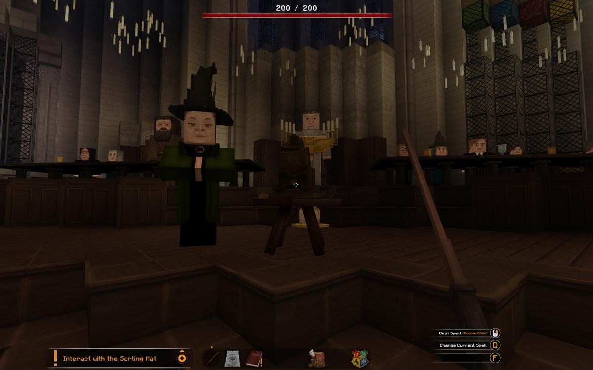 Harry Potter Minecraft Sombrero seleccionador