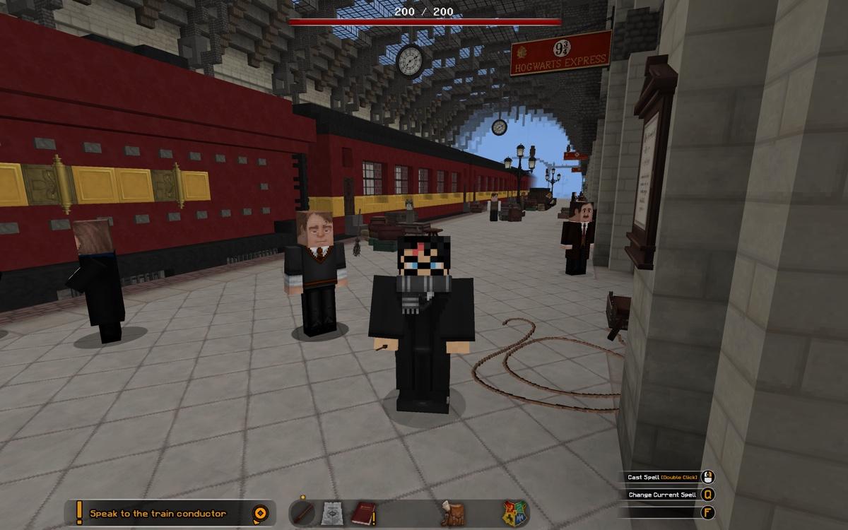 Harry Potter Minecraft tren