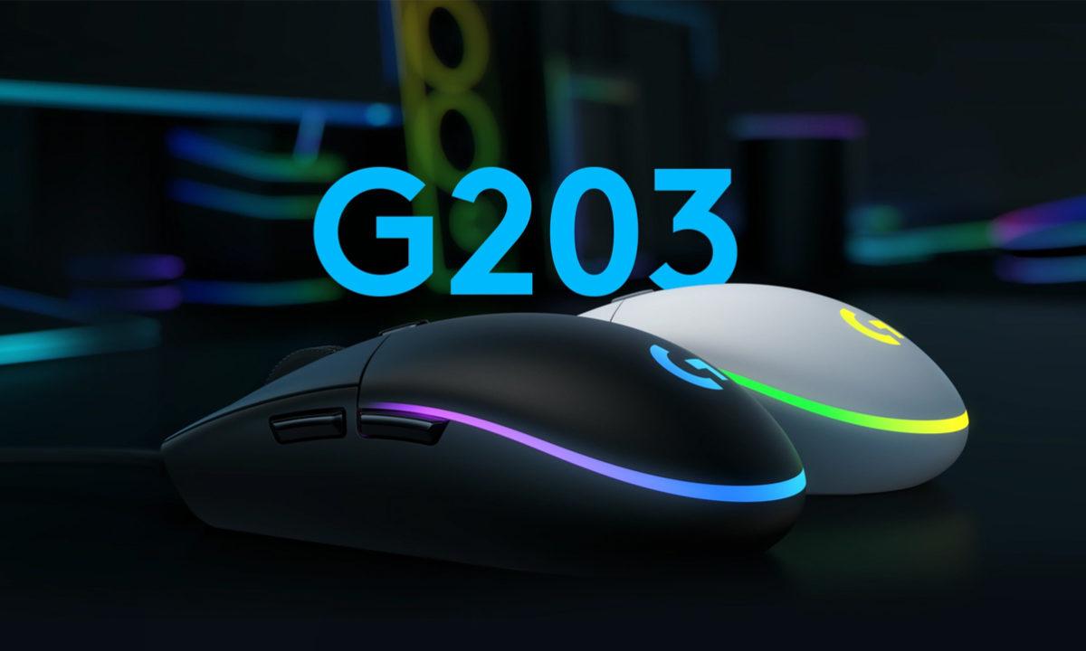Logitech G203 ratón gaming barato