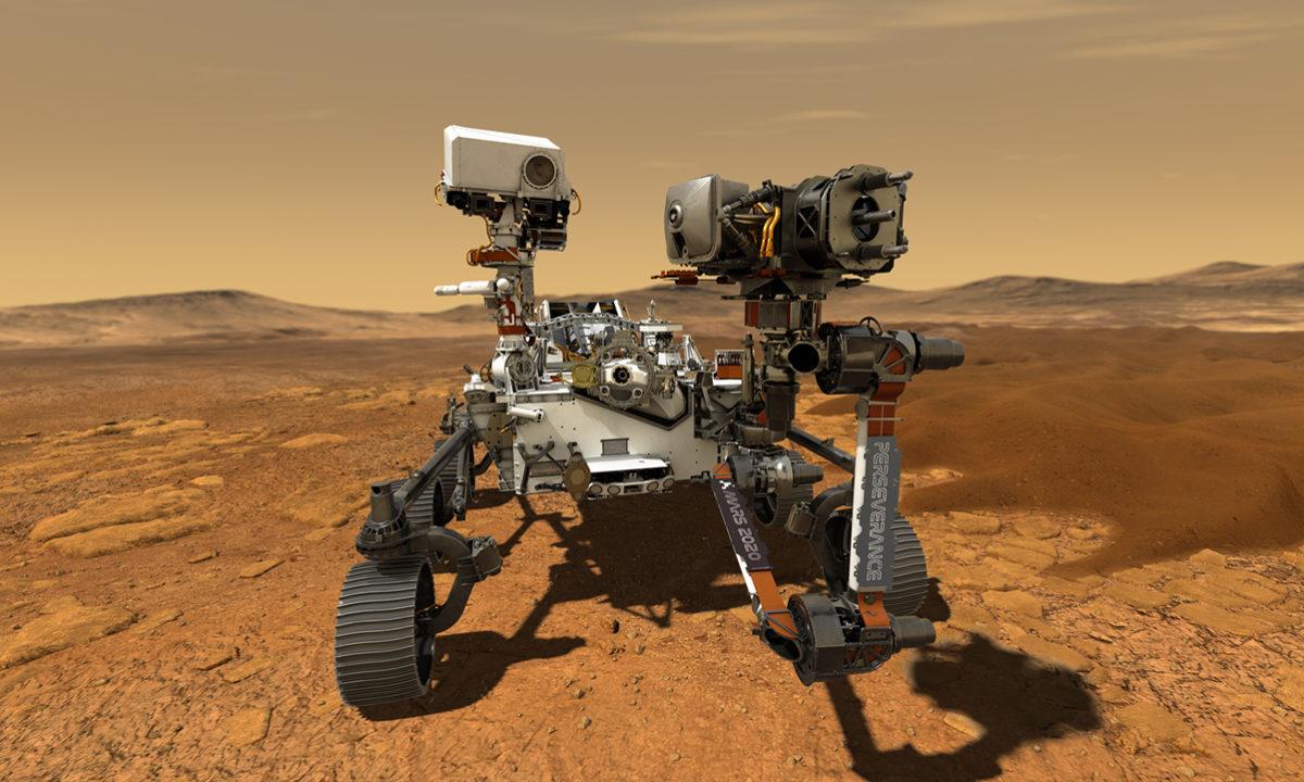 El helicóptero marciano que volará sobre el planeta rojo se llamará Ingenuity 28
