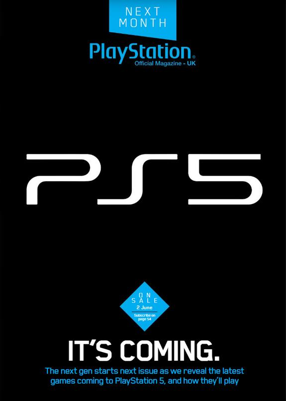 Sony presentará PS5 en mayo, según la revista oficial PlayStation UK 32