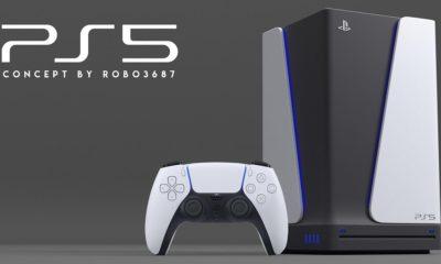 Diseño conceptual de PS5 a juego con el nuevo DualSense que ha presentado Sony 6