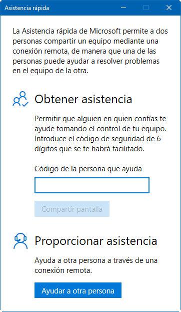 Soluciona problemas de amigos o familiares con la asistencia rápida de Windows 10 31
