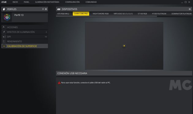 Corsair Dark Core RGB Pro, análisis: el lado oscuro nunca fue tan atractivo 61
