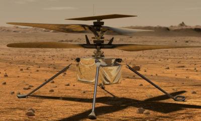 helicóptero marciano