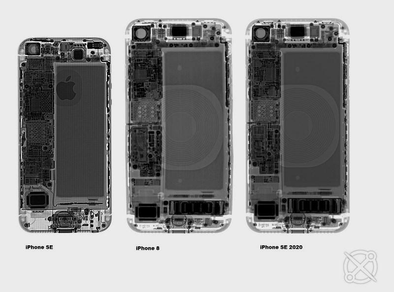 Despiece del iPhone SE 2020: es un calco del iPhone 8 32
