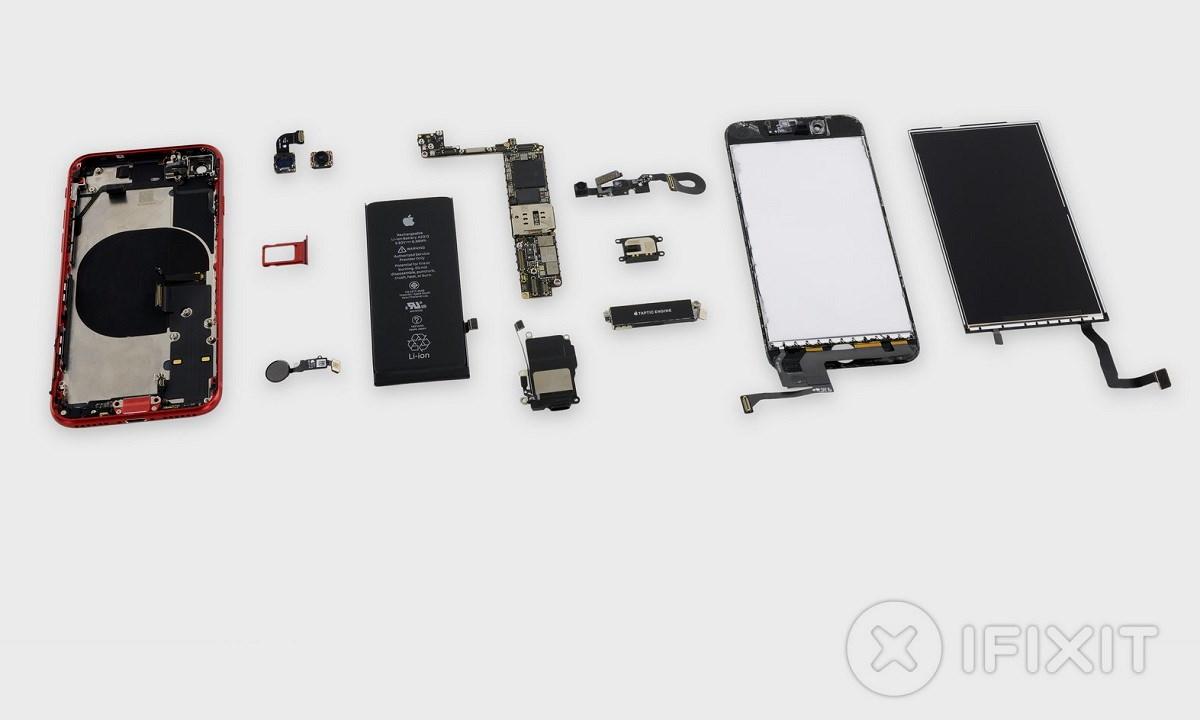 Despiece del iPhone SE 2020: es un calco del iPhone 8 30