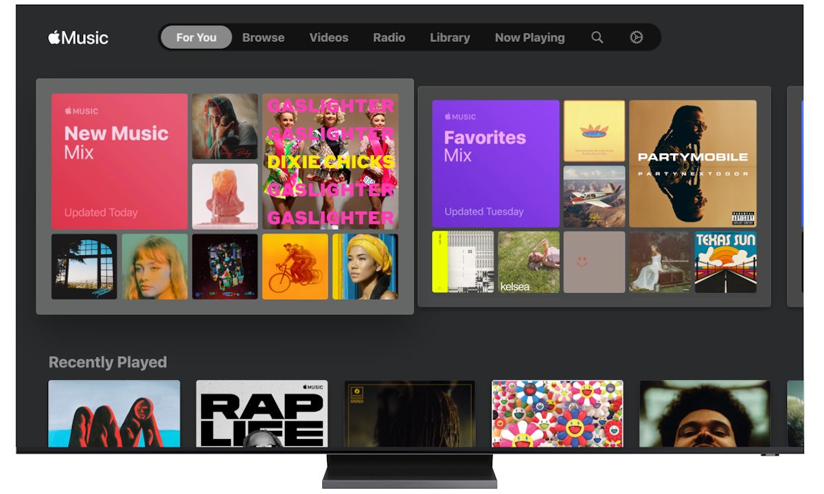 Apple Music para Samsung TV