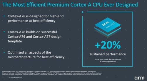 ARM presenta la arquitectura CPU Cortex-A78 y la GPU Mali-G78 33