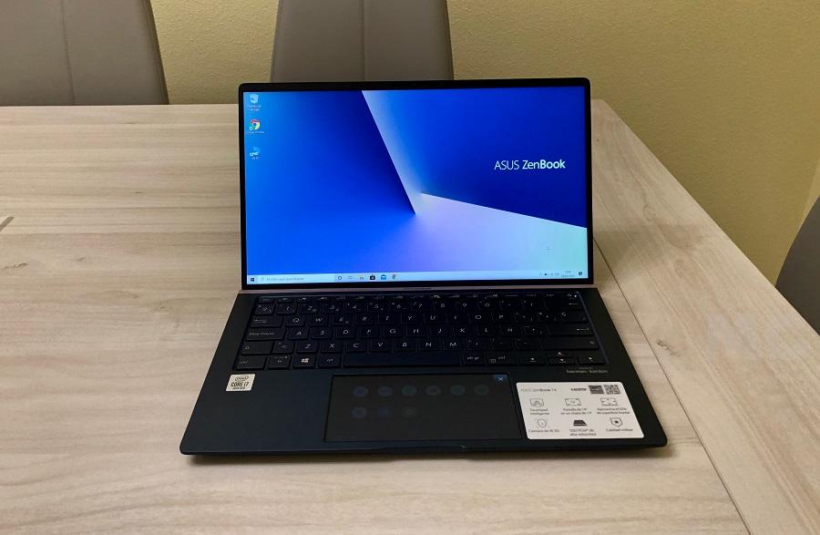 ASUS ZenBook 14, análisis: buen rendimiento en poco más de un kilogramo 45