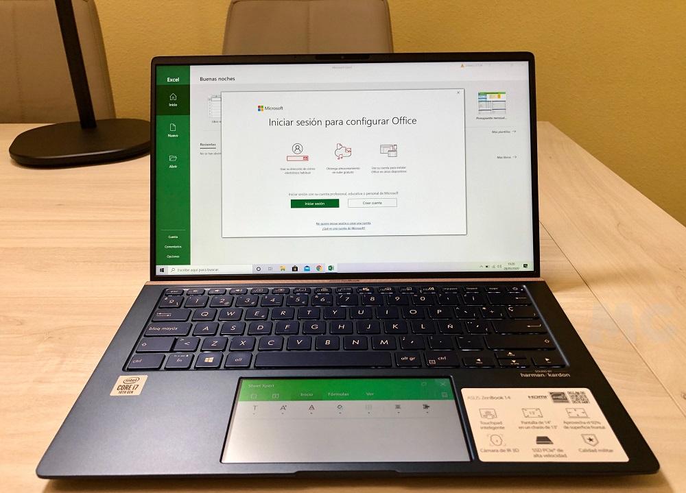 ASUS ZenBook 14, análisis: buen rendimiento en poco más de un kilogramo 47