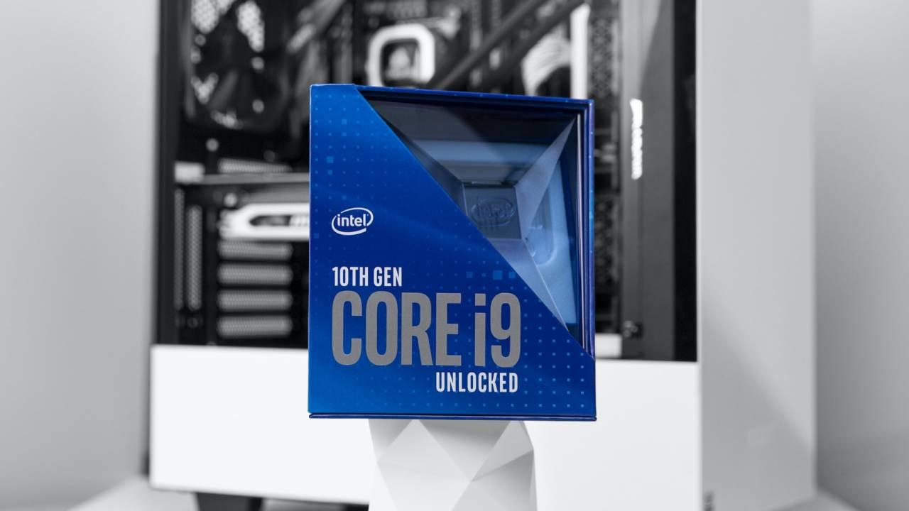 El Core i9-10900K alcanza los 7,7 GHz con todos los núcleos activos utilizando helio líquido 38