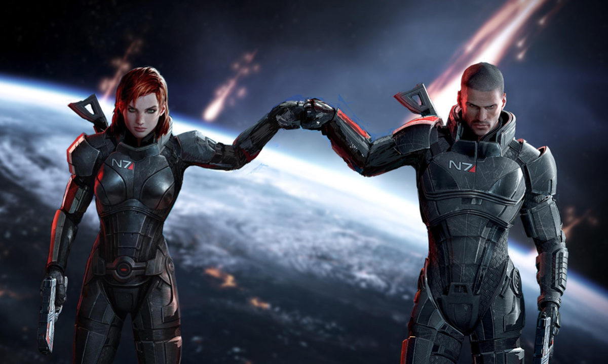 EA Mass Effect Trilogy HD