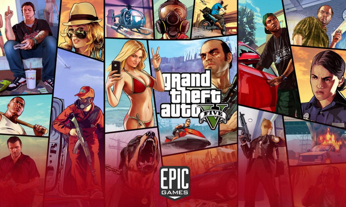 Grand theft auto V Gratis Epic Games GTA 5