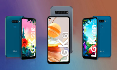 LG K Series Gama media