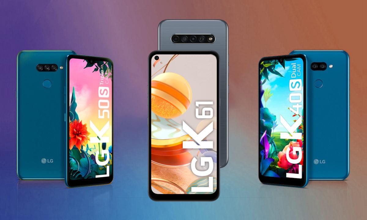 LG K Series Gama media