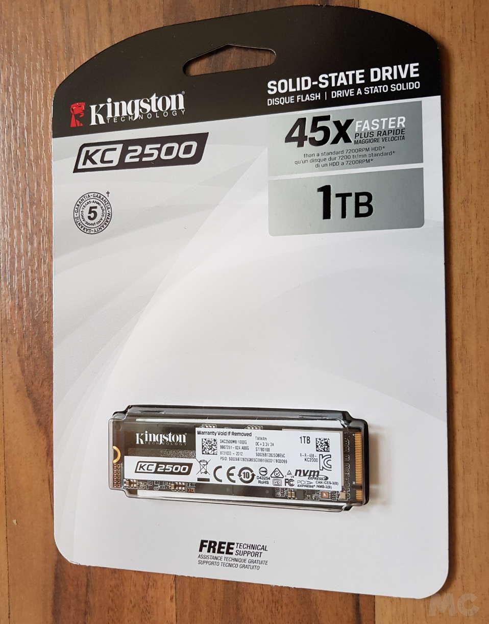 SSD Kingston KC2500