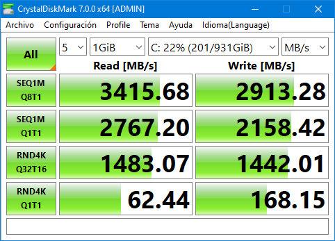 SSD Kingston KC2500, buscando el máximo rendimiento en PCIe 3.0 41