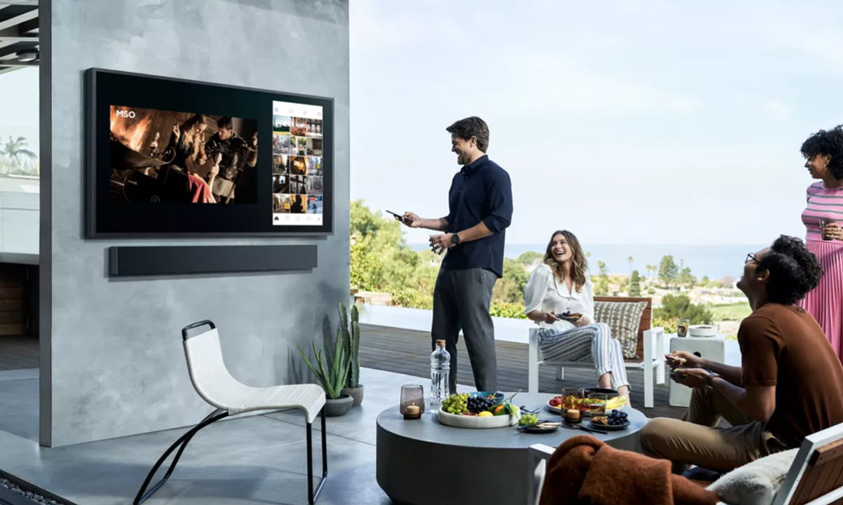 Samsung Terrace 4K TV exteriores