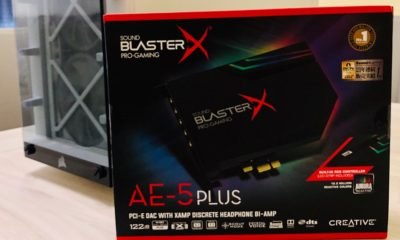 Sound BlasterX AE-5 Plus, análisis: digna heredera del legado Sound Blaster 30