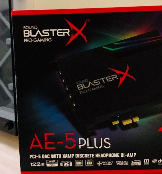 Sound BlasterX AE-5 Plus, análisis: digna heredera del legado Sound Blaster 93