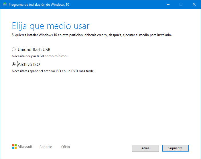 Ya puedes instalar Windows 10 2004 con la herramienta de creación de medios 36