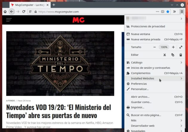 Cómo crear aplicaciones web de escritorio con Firefox 38