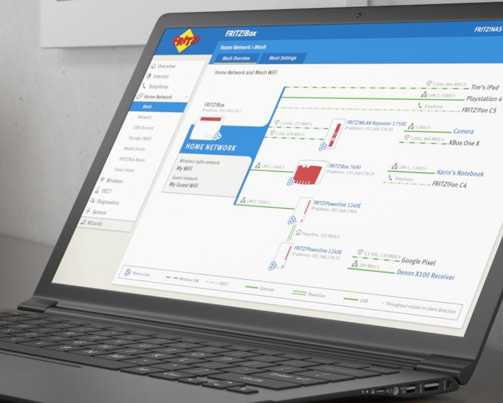 FRITZ!OS de AVM: software inteligente que marca la diferencia 33