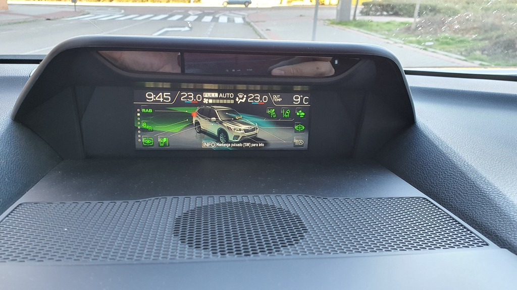 Subaru Forester Eco, verde 38