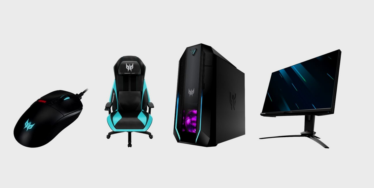 productos gaming serie Predator