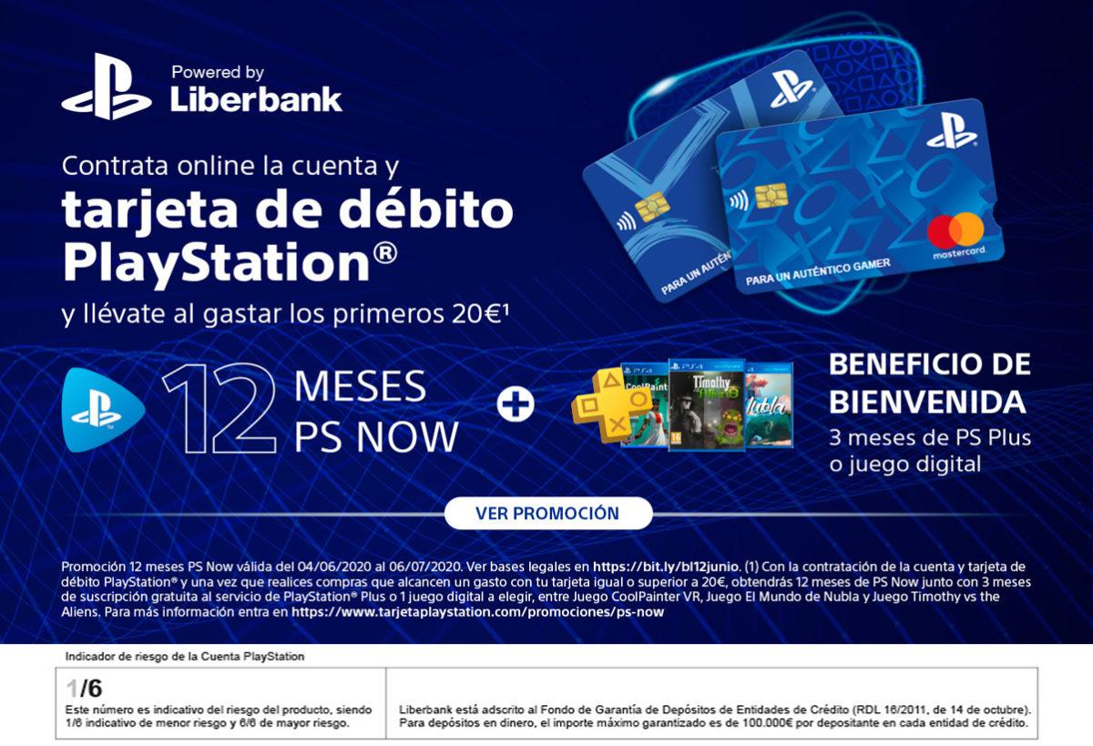 Condiciones Tarjeta PlayStation