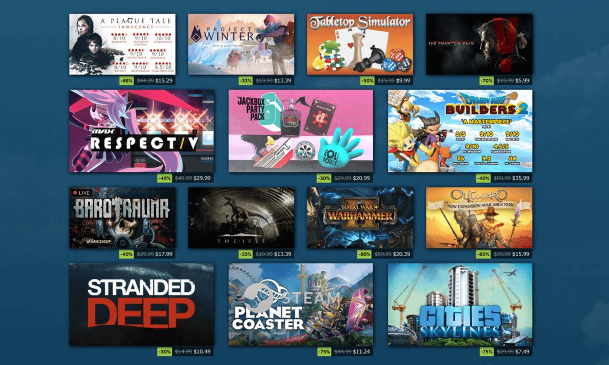 Juegos Rebajas de Verano Steam Summer Sales