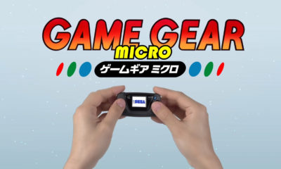 SEGA Game Gear Micro consola retro