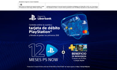 Liberbank Tarjeta PlayStation PS NOW PS Plus