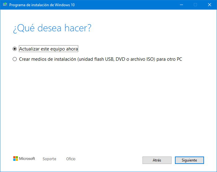Windows 10 2004 gratis