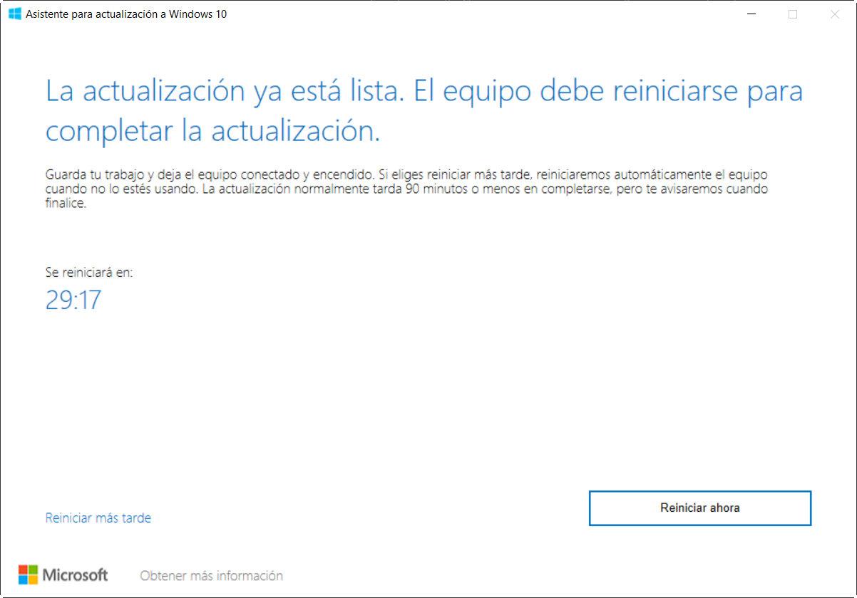 Cuatro métodos para instalar ya Windows 10 2004 y conocer todas sus novedades 35