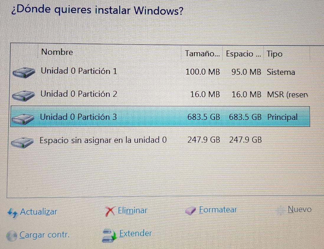 Cómo instalar Windows y Linux en el mismo equipo 51