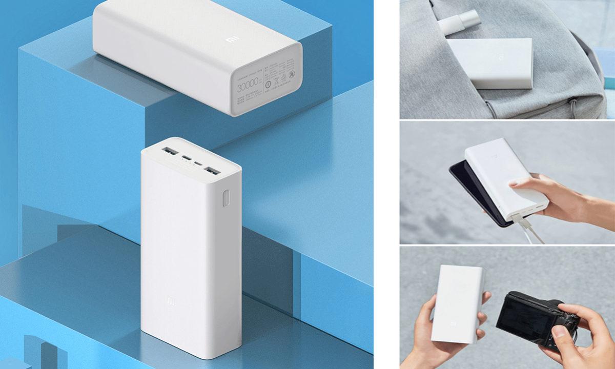 Xiaomi Mi Power Bank 3 Batería portátil 30000 mah