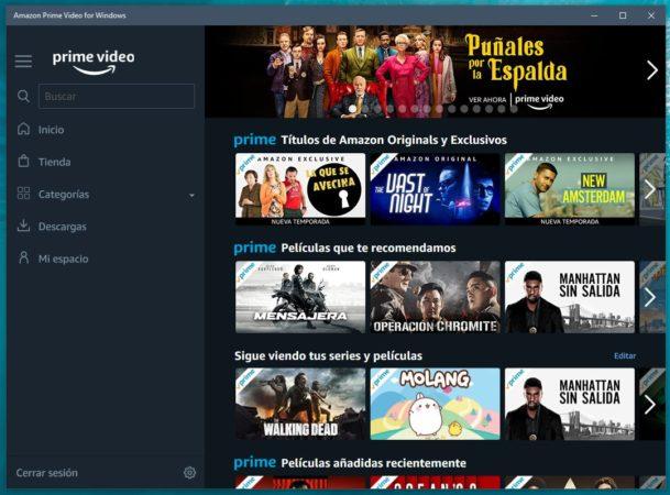 Ya está disponible la aplicación de Amazon Prime Video para Windows 10 31
