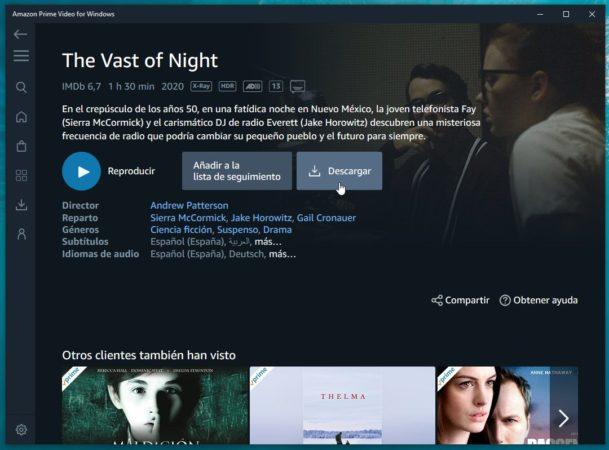 Ya está disponible la aplicación de Amazon Prime Video para Windows 10 35