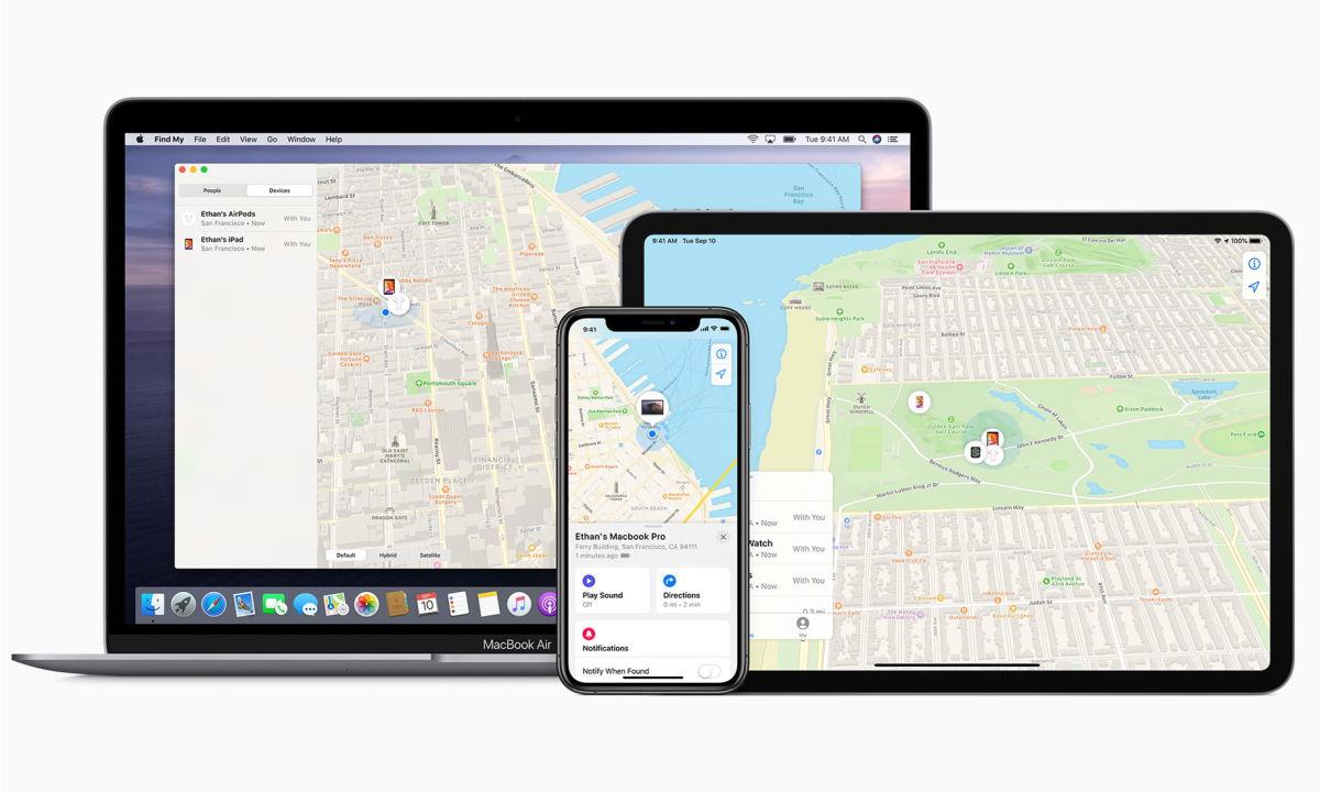 Find My network: ayuda para encontrar tu dispositivo perdido