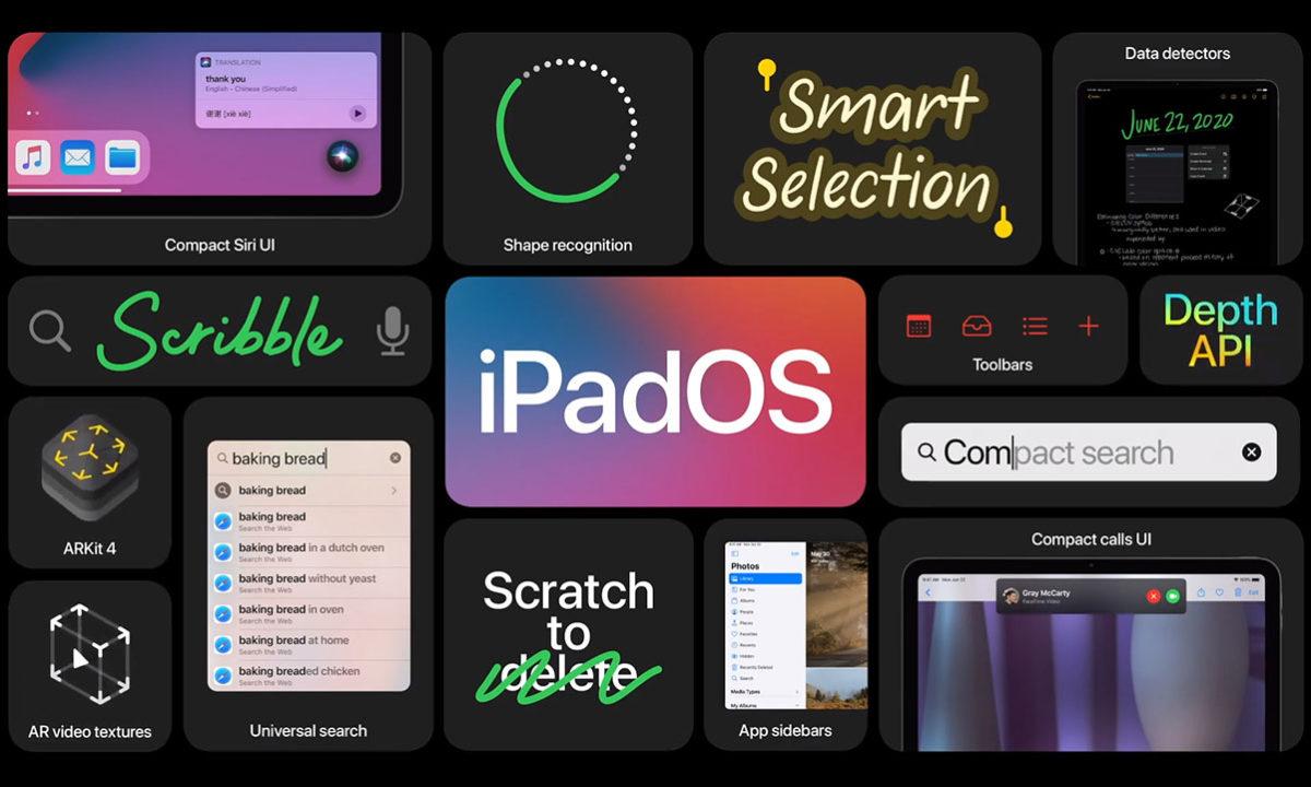 iPad OS 14 WWDC 2020